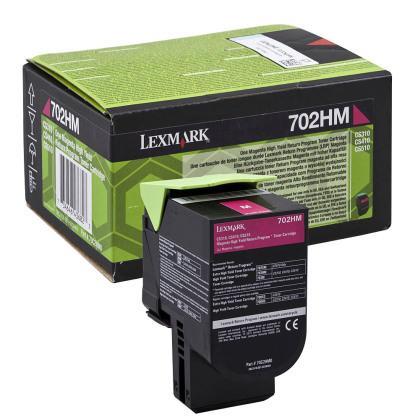 Originálny toner Lexmark 70C2HM0 (Purpurový)