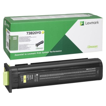 Originálny toner Lexmark 73B20Y0 (Žltý)