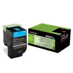 Toner do tiskárny Originálny toner Lexmark 80C2HC0 (Azúrový)