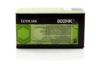 Originálny toner Lexmark 80C2HK0 (Čierny)