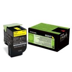 Toner do tiskárny Originálny toner Lexmark 80C2HY0 (Žltý)