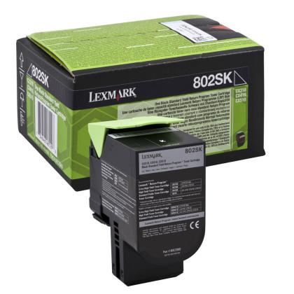 Originálny toner Lexmark 80C2SK0 (Čierny)