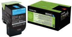 Toner do tiskárny Originálny toner Lexmark 80C2XC0 (Azúrový)