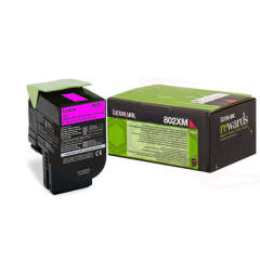 Toner do tiskárny Originálny toner Lexmark 80C2XM0 (Purpurový)