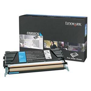 Originálny toner Lexmark C5202CS (Azúrový)