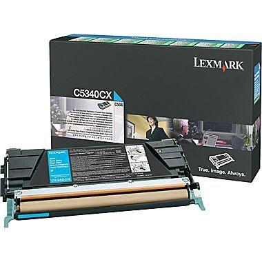 Originálny toner Lexmark C5340CX (Azúrový)