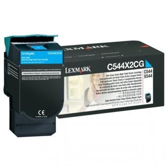 Originálny toner Lexmark C544X2CG (Azúrový)