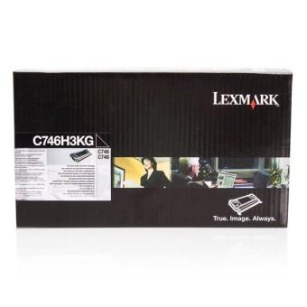 Originálný toner Lexmark C746H3KG (Čierny)