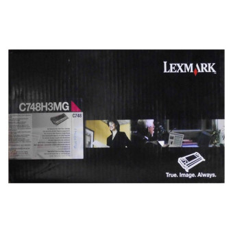 Originálný toner Lexmark C748H3MG (Purpurový)