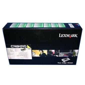 Originálný toner Lexmark C748H3YG (Žltý)