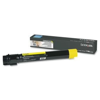 Originálny toner Lexmark C950X2YG (Žltý)