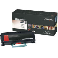 Toner do tiskárny Originálny toner Lexmark E260A21E (Čierny)