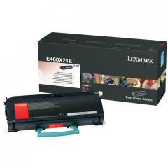 Toner do tiskárny Originálny toner Lexmark E460X21E (Čierny)