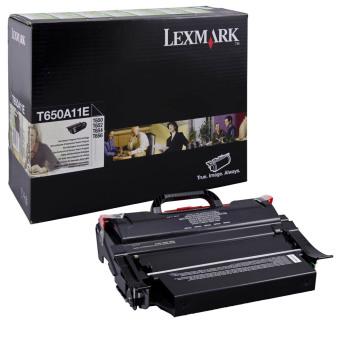 Originálny toner Lexmark T650A11E (Čierny)