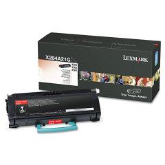 Toner do tiskárny Originálny toner Lexmark X264A21G (Čierny)