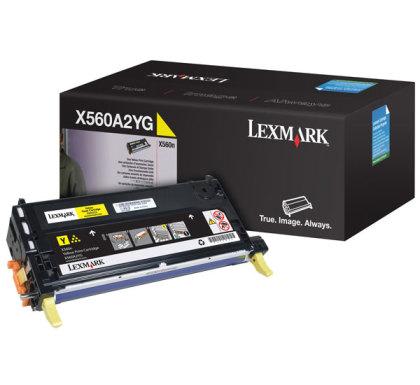Originálny toner Lexmark X560A2YG (Žltý)