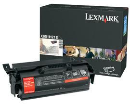 Originálny toner Lexmark X651H21 (Čierný)