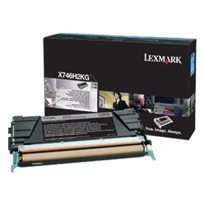 Originálny toner Lexmark X746H2KG (Čierny)