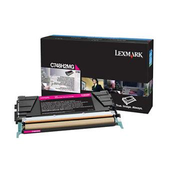 Originálny toner Lexmark X748H2MG (Purpurový)
