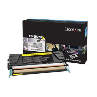 Originálny toner Lexmark X748H2YG (Žltý)