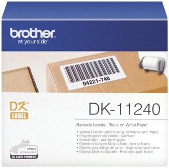 Originálne etikety Brother DK-11240, papierové štítky, 102 x 51mm, 600ks