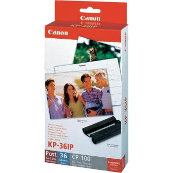 Fotopapier pre termosublimačné tlačiarne Canon 10x15cm, 36ks (KP36IP)