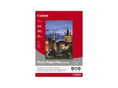 Fotopapier A4 Canon Semi-Glossy, 20 listů, 260 g/m2, pololesklý, saténový, biely, inkoustový (SG-201 A4)