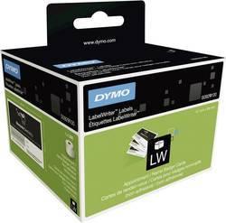 Originálne etikety DYMO S0929100, štítky na vizitky a menovky bez lepidla, 89mm x 51mm, čierna tlač na bielom podklade, 300ks