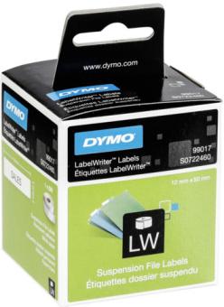 Originálné etikety DYMO 99017 (S0722460), 50mm x 12mm, čierna tlač na bielom podklade, 220ks