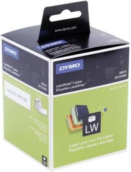 Originálné etikety DYMO 99019 (S0722480), 190mm x 59mm, čierna tlač na bielom podklade, 110ks