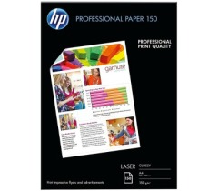 Fotopapier A4 HP Professional Glossy, 150 listov, 150 g/m2, lesklý, biely, laserový (CG965A)