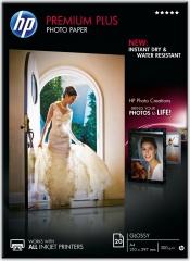 Fotopapier A4 HP Premium Plus Glossy, 20 listov, 300 g/m2, lesklý, biely, inkoustový (CR672A)