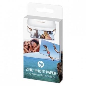 Etikety pre termosublimačné tlačiarne HP 5,1x7,6 cm, 20ks, nálepky (W4Z13A)