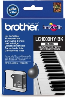 Originálna cartridge Brother LC-1000HYBK (Čierna)