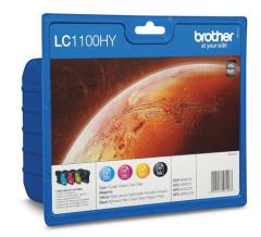 Sada originálných cartridge Brother LC-1100HYVALBP