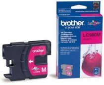Cartridge do tiskárny Originálna cartridge  Brother LC-980M (Purpurová)