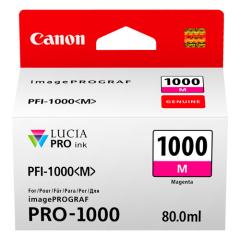 Cartridge do tiskárny Originálna cartridge Canon PFI-1000M (Purpurová)