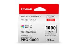 Cartridge do tiskárny Originálna cartridge Canon PFI-1000PGY (Foto sivá)