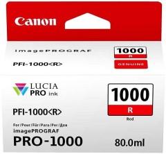 Cartridge do tiskárny Originálna cartridge Canon PFI-1000R (Červená)