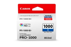 Cartridge do tiskárny Originálna cartridge Canon PFI-1000B (Modrá)
