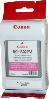 Originálná cartridge Canon BCI-1302PM (Foto purpurová)