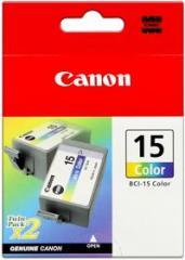 Cartridge do tiskárny Originálná cartridge CANON BCI-15C (Farebná)