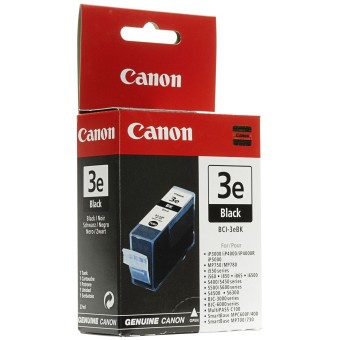Originálna cartridge Canon BCI-3eBK (Čierna)