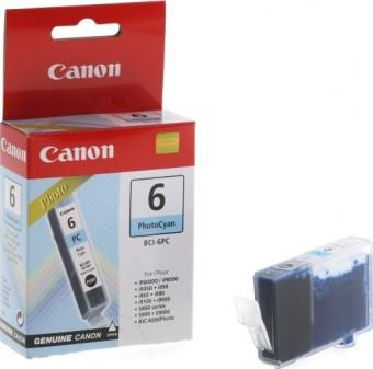 Originálna cartridge Canon BCI-6PC (Svetlo azúrová)