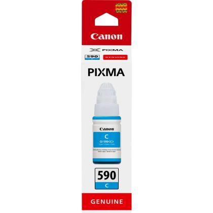 Originálna fľaša Canon GI-590 C (Azúrová)