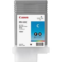 Cartridge do tiskárny Originálna cartridge Canon PFI-101 C (Azúrová)