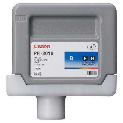 Originálná cartridge Canon PFI-301B (Modrá)