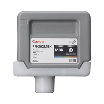 Originálná cartridge Canon PFI-302MBk (Matne čierna)