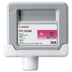 Cartridge do tiskárny Originálna cartridge Canon PFI-303M (Purpurová)