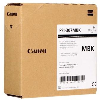 Originálna cartridge Canon PFI-307MBK (Matne čierna)